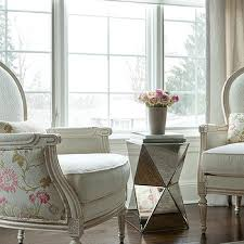 Mirrored Accent Table Mirrored Side Table Design Ideas