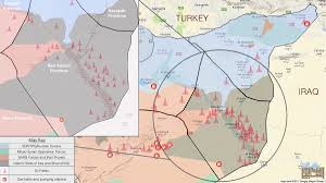 Syria Map Location by Day Of News On The Map September 16 2017 Map Of Syrian Civil