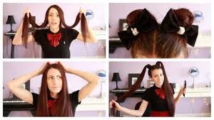 easy hairstyles for super long hair youtube