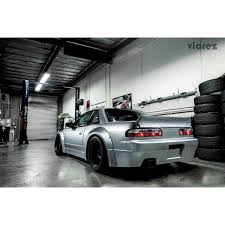 nissan 240sx vicrez nissan 240sx 1989 1994 rocket bunny duck rear wing trunk