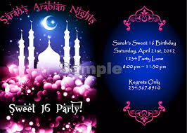 Freshers Party Invitation Cards Saudi Arabian Nights Lifestyle Blog How To Plan An Arabian Nights