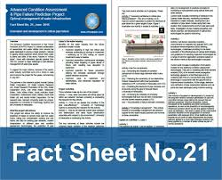 fact sheets advanced condition assessment and pipe failure