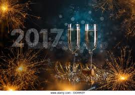 new years chagne flutes chagne glasses sparkler new year stock photos chagne