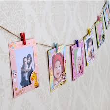 9 pcs lot 6 inch diy wall hanging cute animal paper photo frame