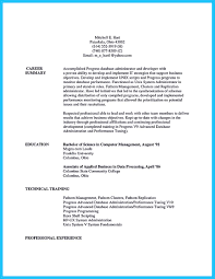 Best Administrative Resume Examples by Mysql Dba Resume Sample Resume For Your Job Application