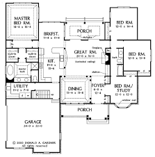 house plans open floor plan story country house plans 1 story single small design new one