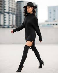 all black casual simplicity is the key totally black ideas candice nikeia