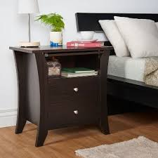 Nightstand With Shelf Nightstand With Shelf Pattison Rc Willey Furniture Store
