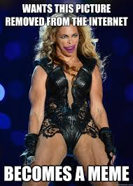 Muscle Memes - unflattering beyoncé photos spawn the year s funniest meme the