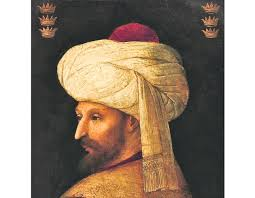 Sultans Of Ottoman Empire Portrait Of Mehmed Ii The Conqueror Sultan Of Ottoman Empire