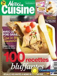 maxi cuisine magazine maxi cuisine décembre 2013 no 85 pdf magazines