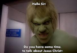 Incredible Meme - the incredible hulk jehovah meme by trekkicat on deviantart
