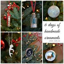 Homemade Ornaments For Christmas by Deer And Christmas Tree Ornament Rachel Teodoro
