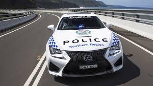 lexus rc australia price lexus rc f is the new add on for nsw u0027s police force australia