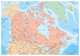 Map Of Canada Map Of Major Cities In Canada Lapiccolaitalia Info