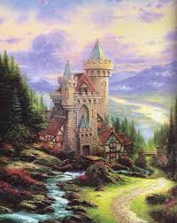 Thomas Kinkade Clocktower Cottage by Thomas Kinkade Signed And Numbered Limited Edition Hand