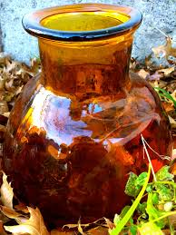 Vintage Orange Glass Vase Factorydumonde Vintage Handblown Orange Glass Vase Large Orange