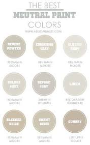 nearly perfect neutral paint colors that are versatile and