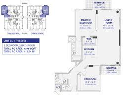 Parkland Residences Floor Plan by Kai At Bay Harbor Islands New Construction Condominium And