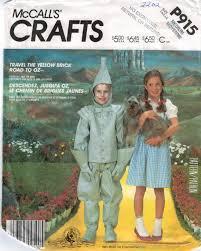child dorothy wizard oz costume mccalls pattern 2202 p915 wizard of oz costumes dorothy tin man