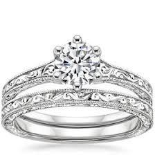 wedding ring bridal sets wedding ring sets brilliant earth