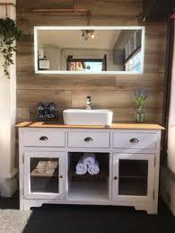 Shabby Chic Bathroom Vanity Unit by Bathroom Vanity Unit 600w Satin Fossil Wash Stand Cabinet