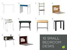 Small Desk Small Desk For Bedroom Interque Co