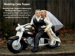 motorcycle wedding cake toppers wedding cake topper