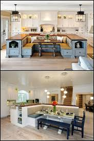 breakfast kitchen island kitchen island with built in seating inspiration dining area