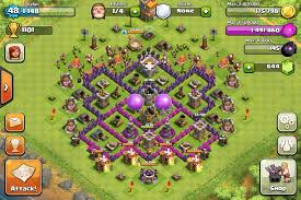 layout coc town hall level 7 tubsy s terror guaranteed level 10 war base fabulous clash of