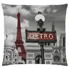 Eiffel Tower Bed Set Paris Bedding Single Duvet Cover Sets City Landmarks Eiffel Tower