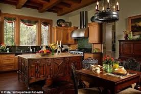 house kitchen andie macdowell s house kitchen hooked on houses