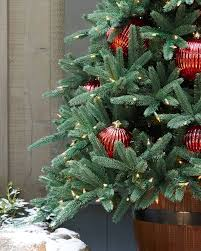 Large Outdoor Christmas Ornaments by Oakville Narrow Outdoor Christmas Tree Balsam Hill