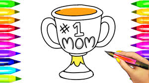 trophy coloring page virtren com