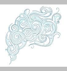 water swirls royalty free vector image vectorstock