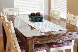 How To Make A Dining Room Table Easy Diy Table Runner Tutorial Sew Much Ado