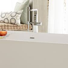 Floor Mounted Faucet Tub Faucet Square Floor Mount Tub Filler From Dxv
