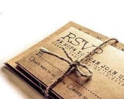 Rustic Vintage Wedding Invitations Typewriter Wedding Etsy