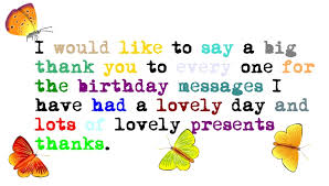 birthday thank you quote quotes birthdays special