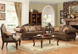 Traditional Leather Sofa Set Homelegance Lambeth Ii Sofa Set Chenille U5699nf 3