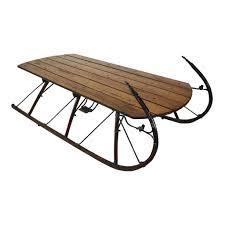 sleigh coffee tables ski country antiques u0026 home
