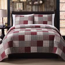 King Size Quilt Coverlet Lodge Patchwork Quilts Bedspreads U0026 Coverlets Ebay