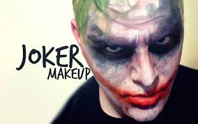 Batman Halloween Makeup by Joker Makeup From Batman The Dark Knight Youtube