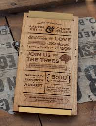 wooden wedding invitations wooden wedding invitations marialonghi