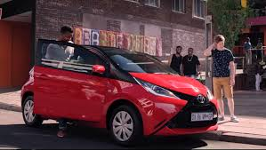 toyota aygo toyota aygo gets worshiped in south africa commercial autoevolution