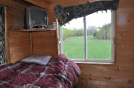 Box Blinds For Deer Hunting Tower Stand Ideas 24hourcampfire