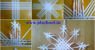 creative ideas make 3d paper snowflake crazzy craft