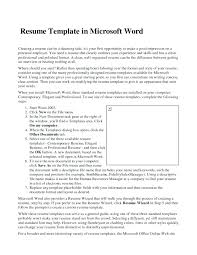 resume sample word file how to format a resume in word how to format a resume resume