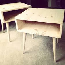 Plans For Wooden Bedside Table by Best 25 Nightstand Plans Ideas Only On Pinterest Diy Nightstand