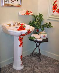 Powder Room With Pedestal Sink Powder Rooms With Pedestal Sinks Befon For